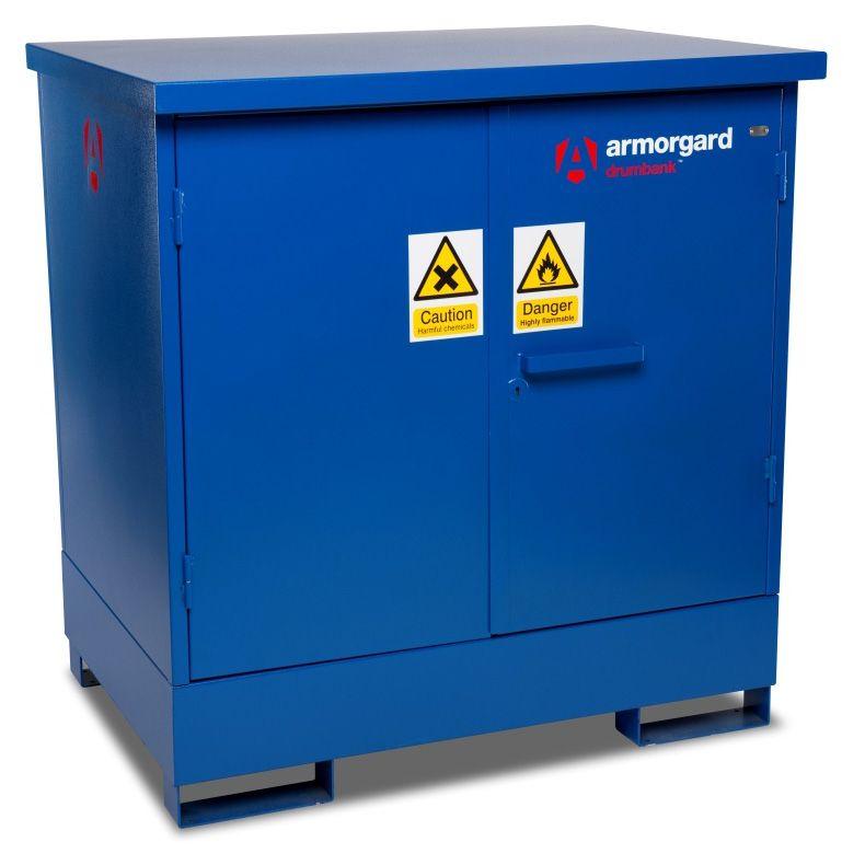 Armorgard DB2 Drumbank 2 Drum Enclosed Storage Unit