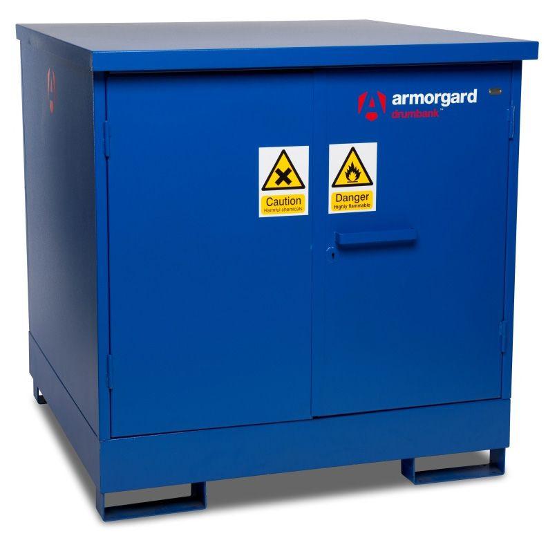 Armorgard DB4 Drumbank 4 Drum Enclosed Storage Unit