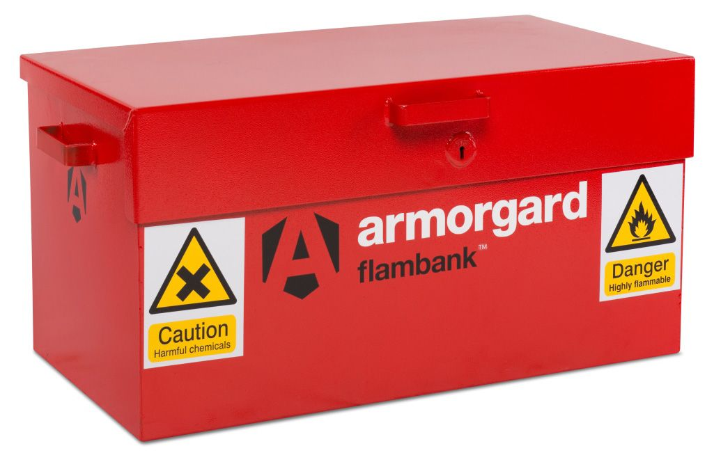 Armorgard FB1 Flambank Hazardous Materials Storage Box