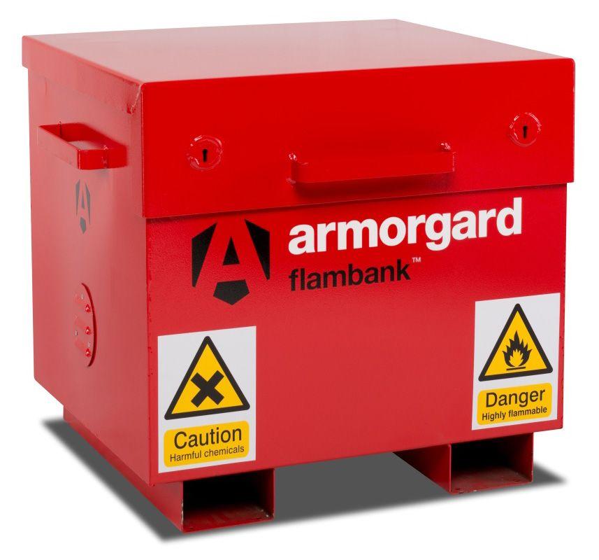 Armorgard FB21 Flambank Hazardous Materials Storage Box
