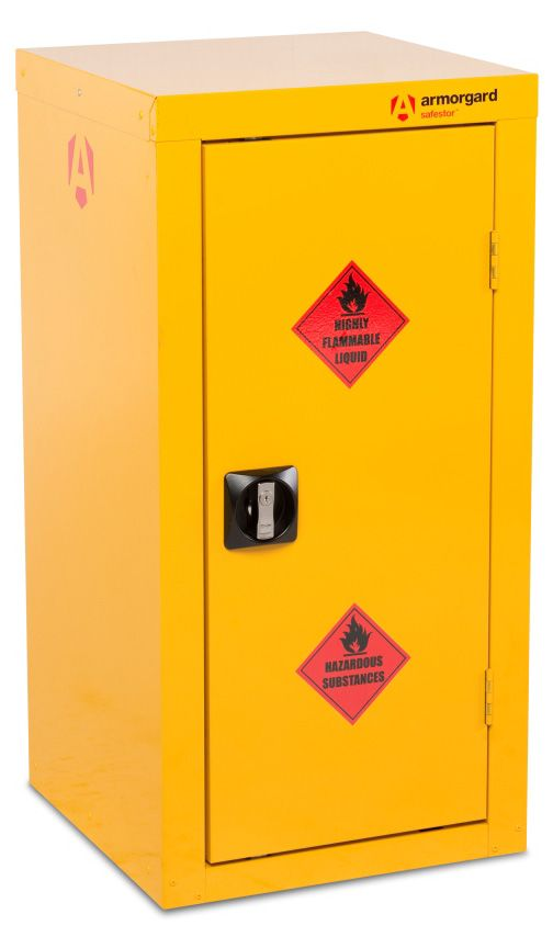 Armorgard HFC4 Safestor Hazardous Materials Floor Storage Cupboard