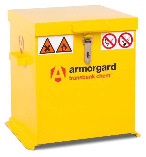 Armorgard TRB2C Transbank Chem Chemical Materials Transit Box