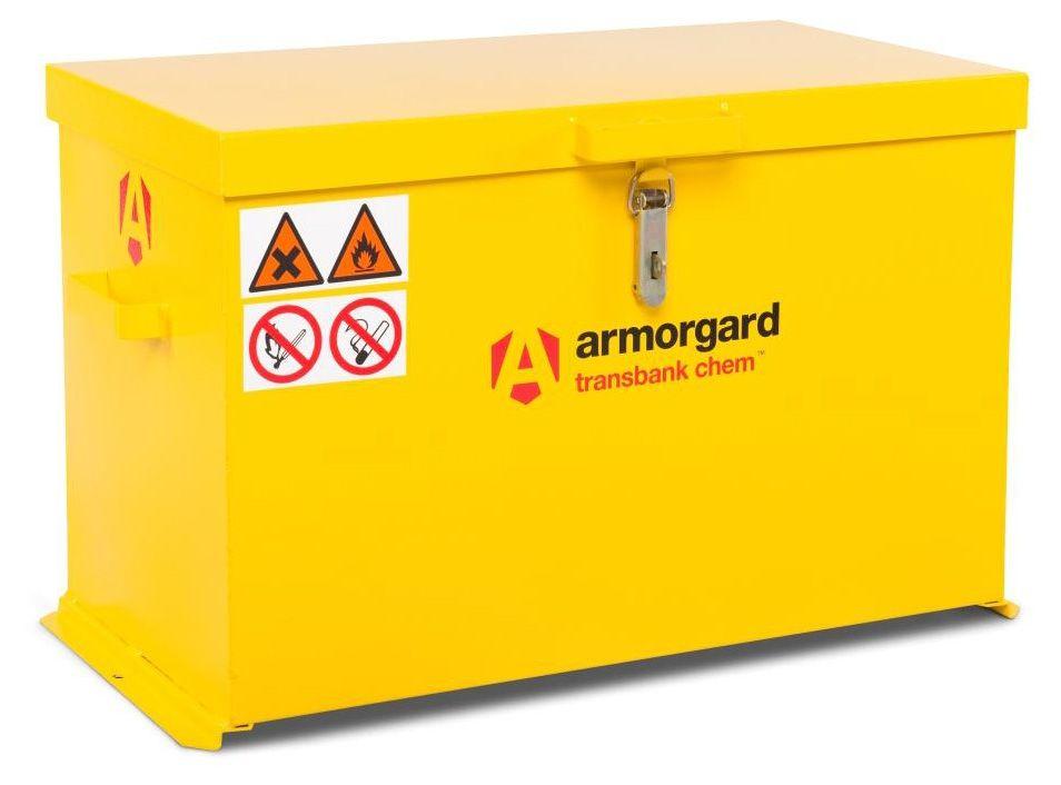 Armorgard TRB4C Transbank Chem Chemical Materials Transit Box