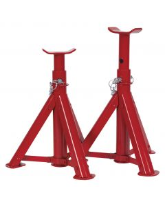 Sealey Axle Stands (Pair) 2tonne Capacity per Stand - Folding Type