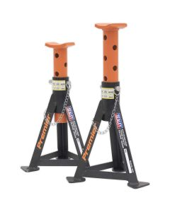 Sealey Axle Stands (Pair) 3tonne Capacity per Stand Orange