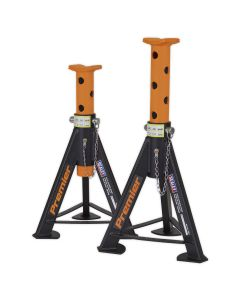 Sealey Axle Stands (Pair) 6tonne Capacity per Stand - Orange