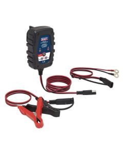 Sealey Compact Auto Smart Charger 1A 6/12V