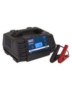 Sealey Compact Auto Smart Charger 12A 9-Cycle 12/24V - Lithium