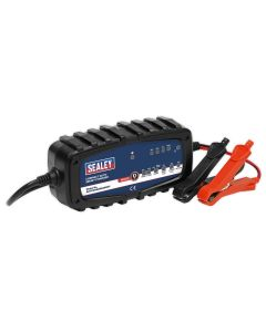Sealey Compact Auto Smart Charger 2A 9-Cycle 6/12V - Lithium