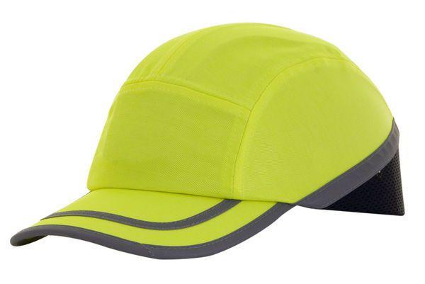 B Brand Safety Baseball Cap Saturn Yellow