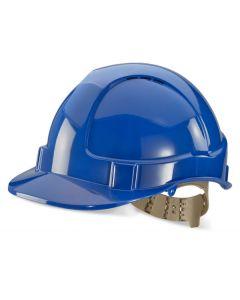 B Brand Vented Safety Helmet Blue