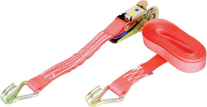 Warrior 1 Tonne Ratchet Straps With Claw Hooks