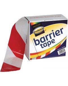 Prosolve Barrier Tape Red/White 75mm x 500m