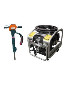 Belle Midi 20-140 Power Pack & BHB25X Ground Surface Breaker