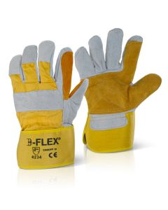 B-Flex Double Palm Canadian Rigger Gloves