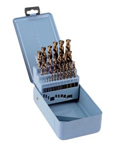 Castle Brooke 25Pc Metric Cobalt Drill Bit Set