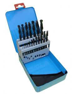 Castle Brooke 19Pc Metric HSS Roll Forged Drill Bit Set