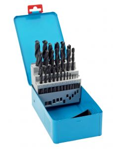 Castle Brooke 25Pc Metric HSS Roll Forged Drill Bit Set