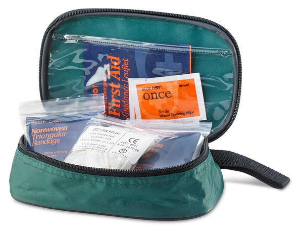 Click First Aid 1 Person Kit Pouch