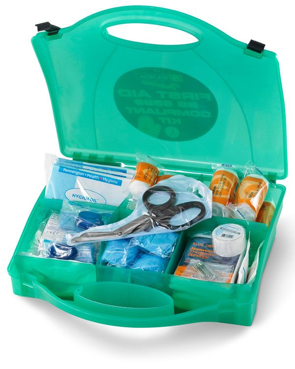 Click Medical First Aid Kit Large BS8599