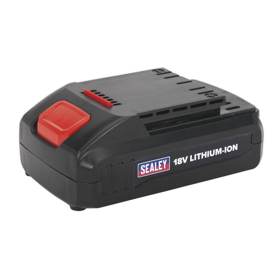 Sealey Power Tool Battery 18V 1.3Ah Lithium-ion for CP2518L