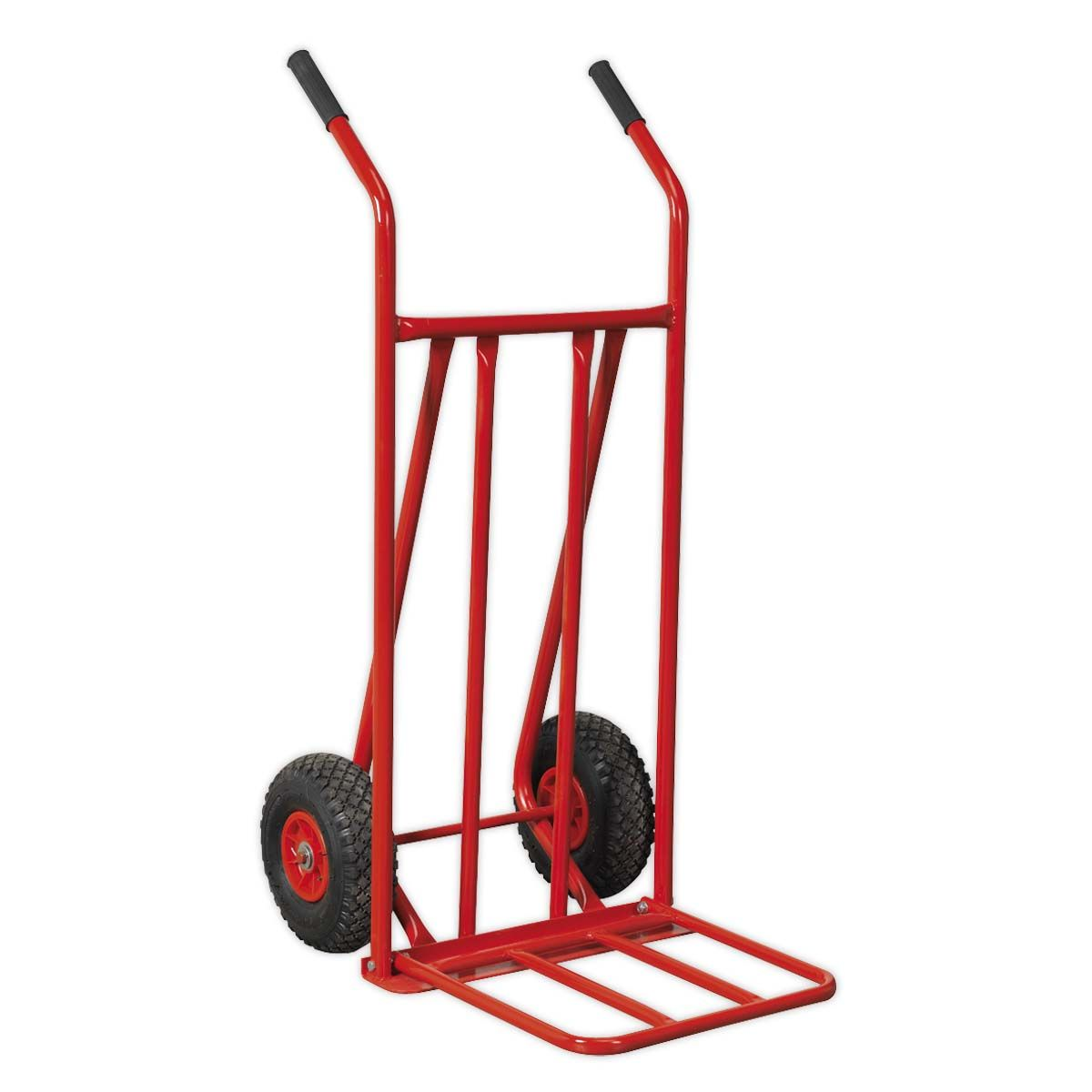 Sealey Sack Truck with Pneumatic Tyres & Foldable Toe 150kg Capacity