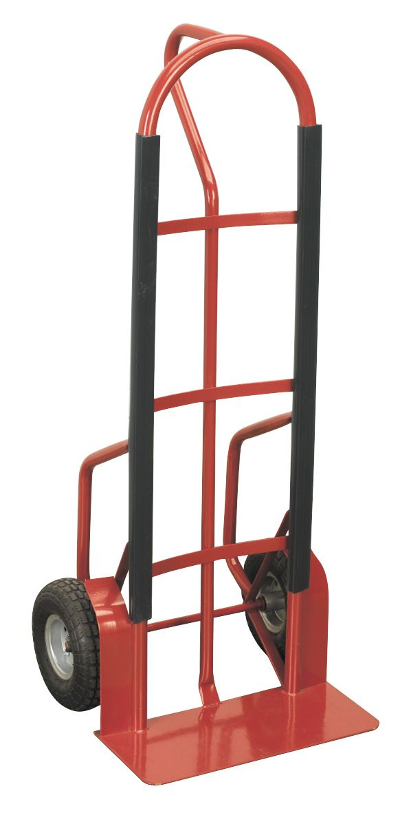 Sealey Sack Truck with Pneumatic Tyres 300kg Capacity
