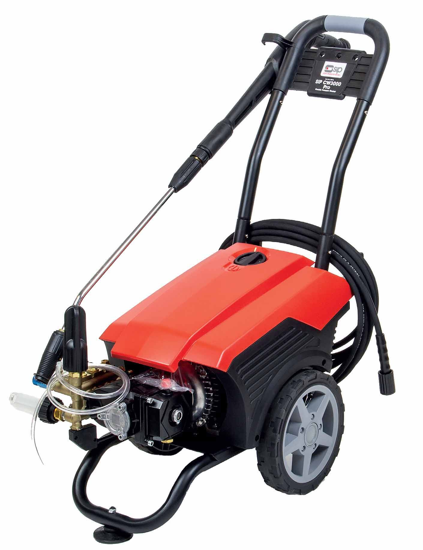 SIP CW3000 Pro Pressure Washer 120 Bar 230v