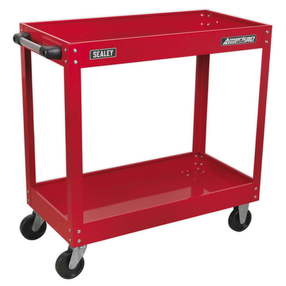 Sealey Workshop Trolley 2-Level Heavy-Duty