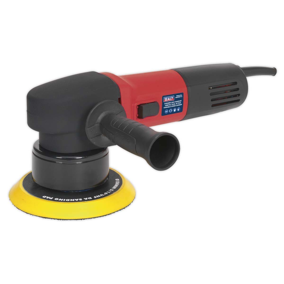 Sealey Random Orbital Dual Action Sander Ø150mm 230V