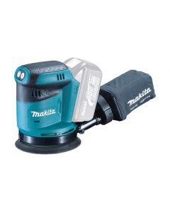 Makita DB180Z 18v Cordless Orbit Sander 125mm 190w BODY ONLY