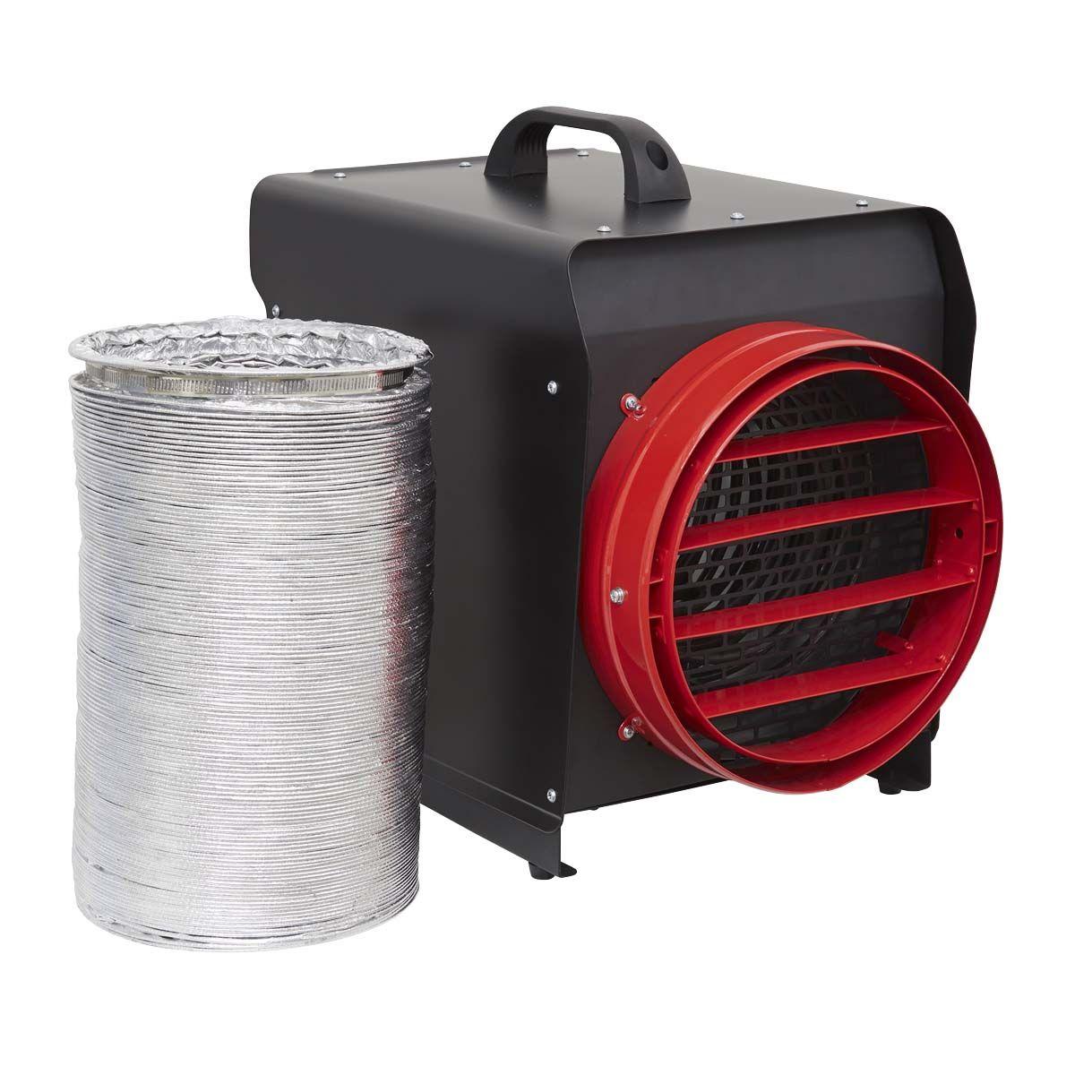 Sealey DEH10001 Industrial 10kW Fan Heater 415v 3 Phase