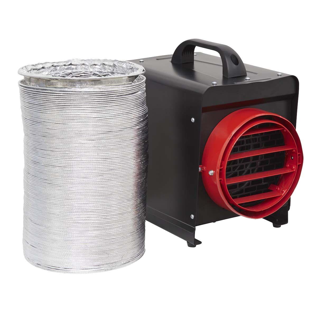 Sealey DEH2001 Industrial 2kW Fan Heater 230v