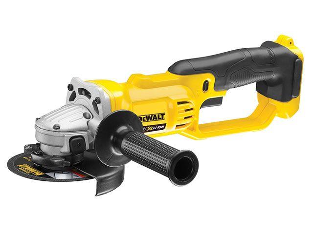 DEWALT DCG412N 18v 125mm XR Premium Angle Grinder BODY ONLY