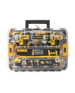 DEWALT Help For Heroes Brushless Twin Pack 18 Volt 2 x 4.0Ah Li-Ion