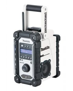 Makita DMR109 DAB Site Radio White BODY ONLY