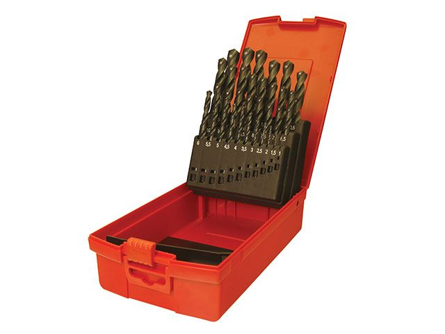 Dormer A190 No.20 Imperial HSS Drill Set of 15 1/16 - 1/2in x 32nds