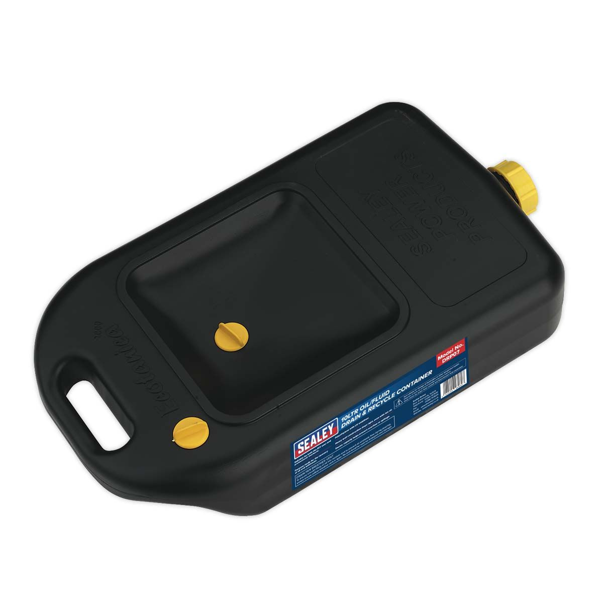 Sealey Oil/Fluid Drain & Recycle Container 10L