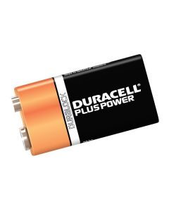 Duracell Alkaline PP3 9v Battery Pack of 2