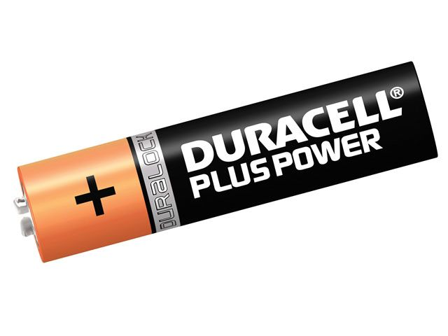 Duracell AAA Cell Plus Power Batteries Pack of 4 RO3A/LR0