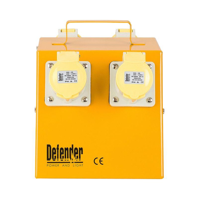 Defender 4 Way Power Splitter Distribution Unit 16A 110V