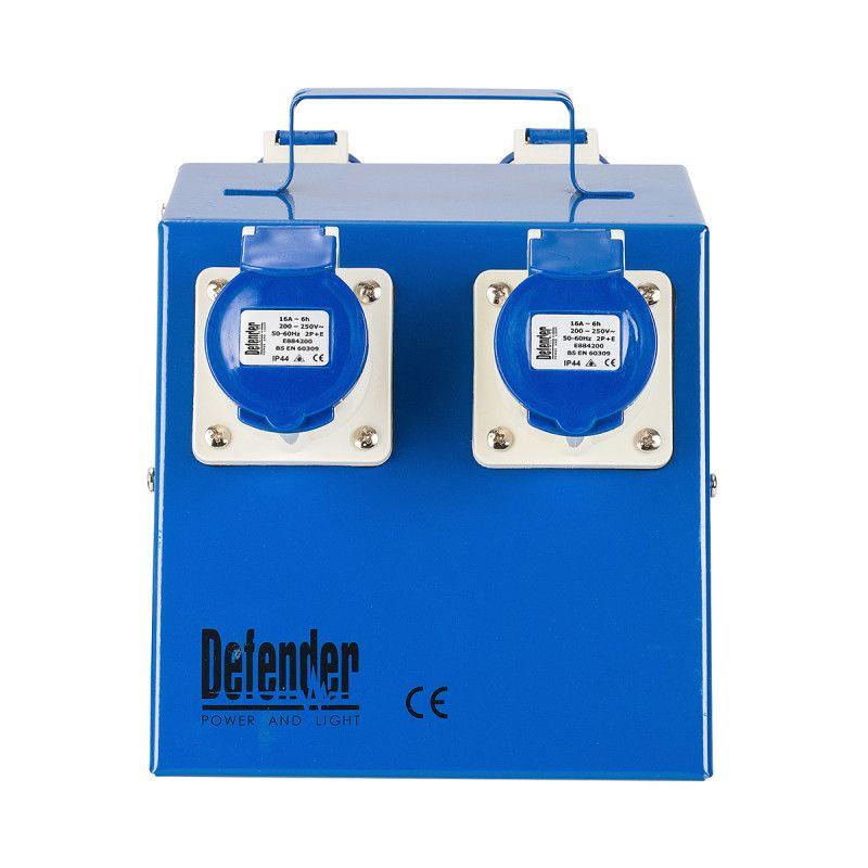 Defender 4 Way Power Splitter Distribution Unit 16A 240V