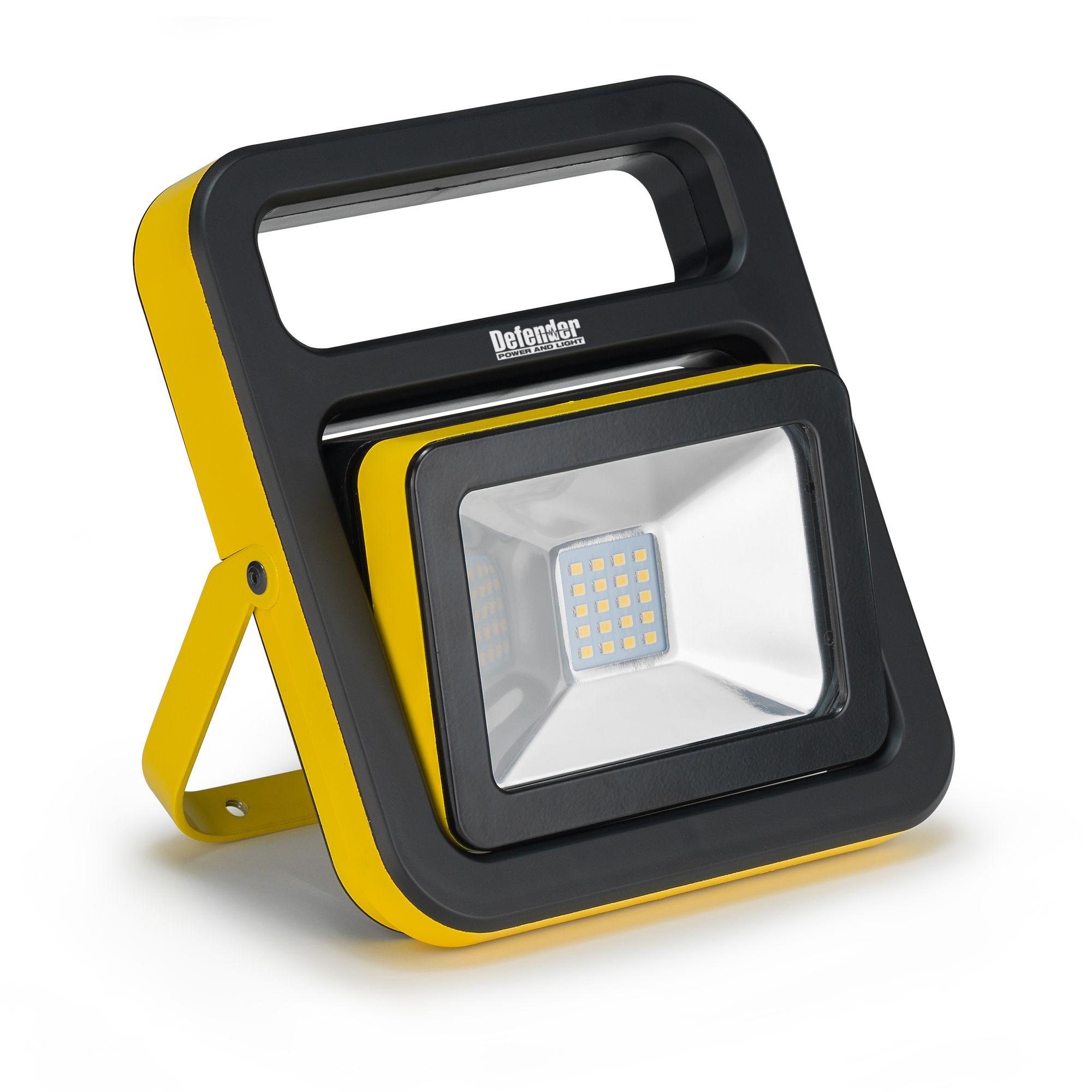 Defender 20w Rechargeable LED Slim Floor Light
