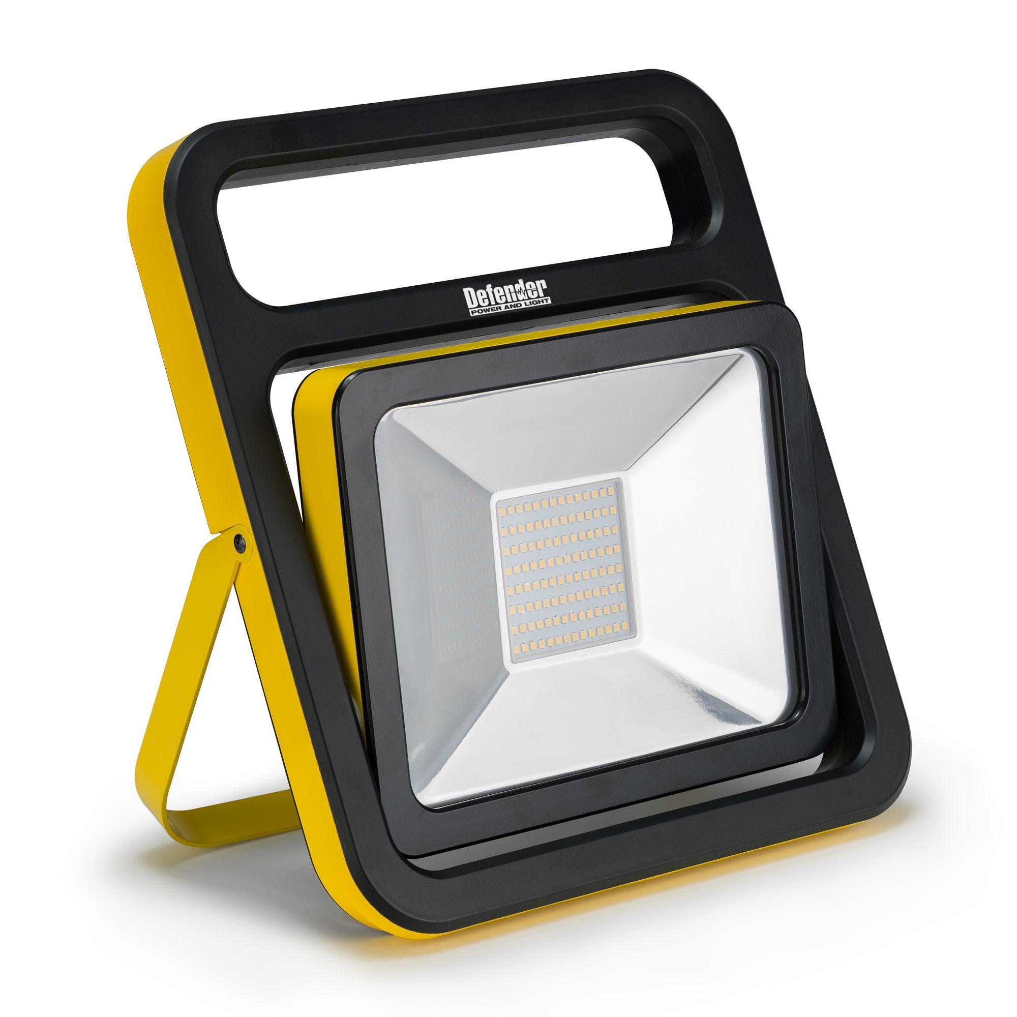 Defender 50w LED Slim Floor Light 110v