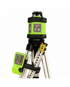 Imex E60 Rotating Laser Level With Red Beam FULL KIT