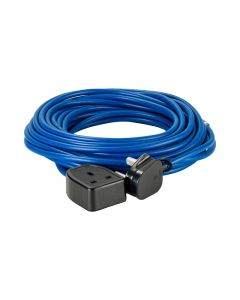 Defender 14m Extension Lead 13A 1.5mm Cable Blue 240V