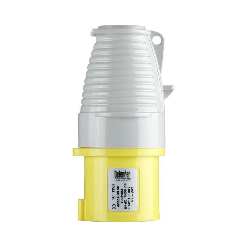 Defender 16A Plug Yellow 110V