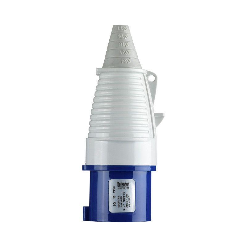 Defender 32A Plug Blue 240V