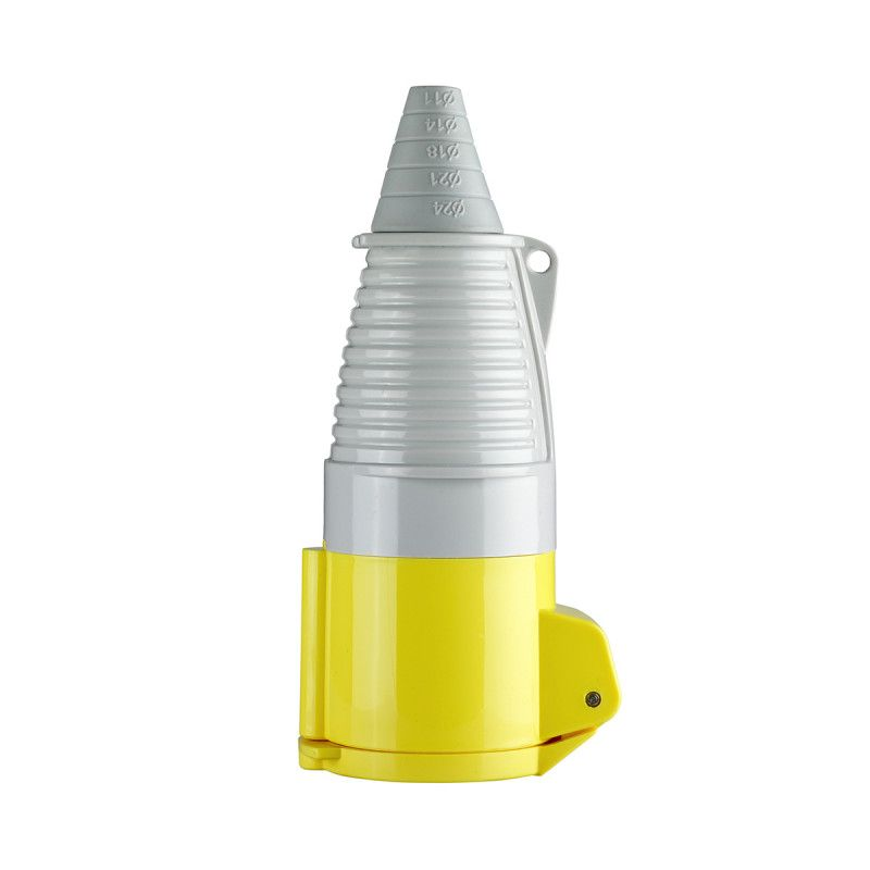 Defender 32A Coupler Yellow 110V