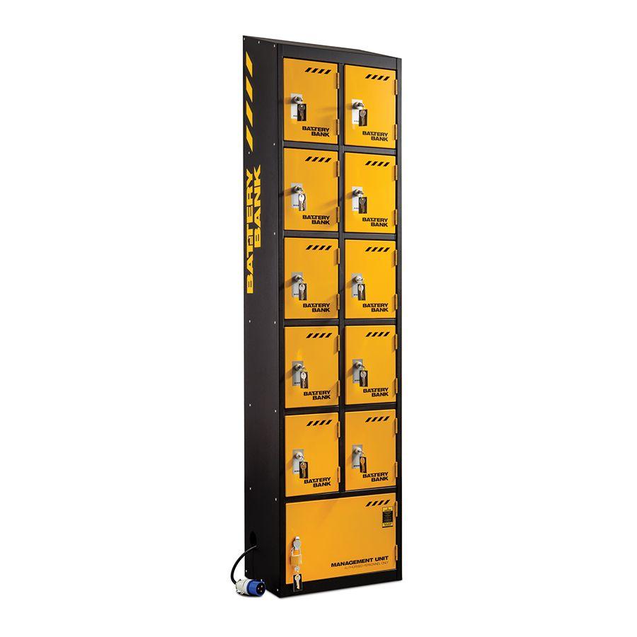 Defender 10 Door Battery Bank Charging Unit